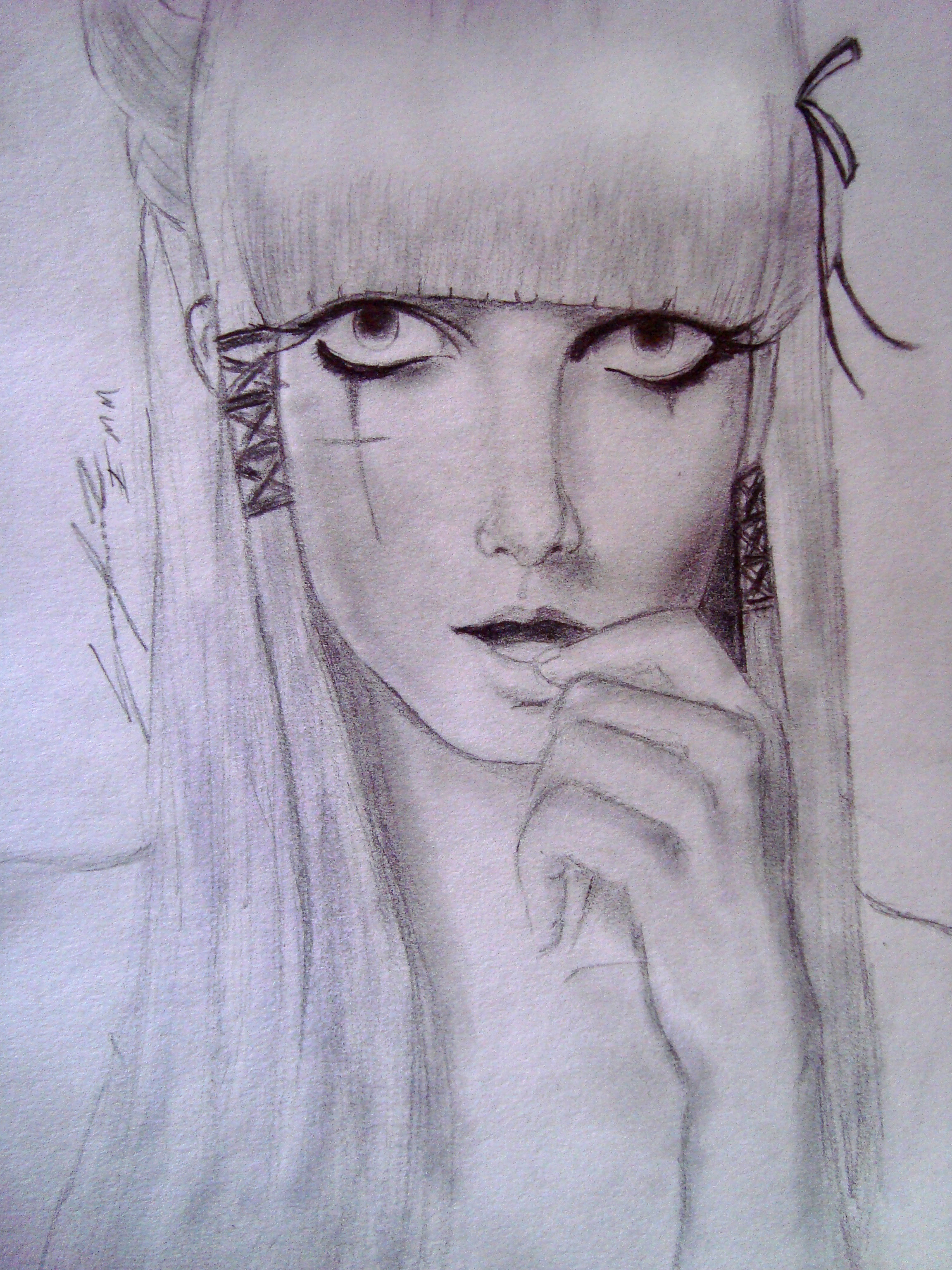 dibujo a lapiz « ***My own DimensioN***